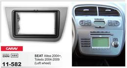 CARAV 11-582 Car Radio Fascia Panel for SEAT Leon 2005-2012 (Right wheel) Stereo Fascia Dash CD Trim Installation Kit