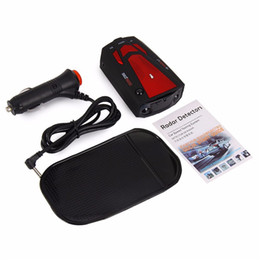 Wholesale 360 Degree Car Speed Radar Detector Voice Alert Detection Shaped Safety for Car GPS Car Laser Detector Laser LED