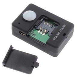 Dispositivos anti-robo de coches en Línea-A9 PIR MP. Alerta Inducción Infrarrojos Dispositivo de alarma antirrobo del vehículo Alta sensibilidad Tiempo de espera largo Detección de movimiento Alerta GSM