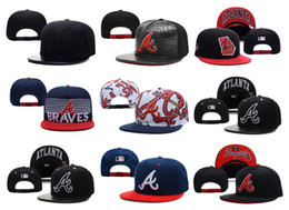 Wholesale Fashion Atlanta Braves Baseball Cap Adjustable Popular Women Men Sports Snapbacks Hat Cap