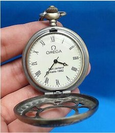 Wholesale China Tibet collection of bronze sculpture machinery old pocket watch