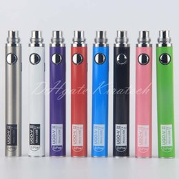 510 eGo UGO V II 2 Vape Pen UGO-VII Electronic Cigarette Battery 650mah 900mah come with micro usb chargers For The Cheapest Price