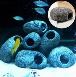 Wholesale Aquarium Cichlid Stones Ceramic Rock Cave Ornament Cichlid Stones Fish Tank Cichlid Stones Decoration Your Best Choice
