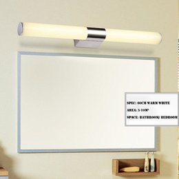80cm acryl bathroom over mirror light 110V   230V 16W led vanity sconce lamps warm   cool white