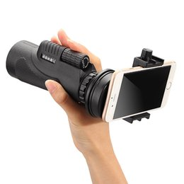 Wholesale Universal x50 Hiking Concert Camera Lens Telescope Monocular With No Holder For Smartphone by e Packet
