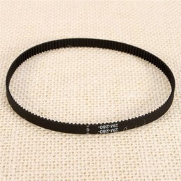 Wholesale High Quality d Printer Belt Closed Loop Rubber GT2 Timing Belt GT Teeth Length mm Width mm Newest