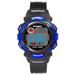 Creative Kid Fashion LED Digital Dress Watches Luxury Students Sport Watch Outdoor Lunimous Watch for Kids