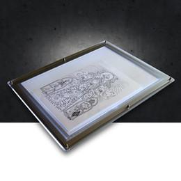 Wholesale Tattoo Transfer Tool Acrylic Copy Board A4 Size Stencil Equipment Tattoo Accessories WS071