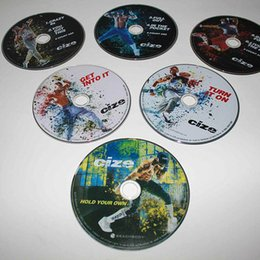 Wholesale Workout DVD DVDs Bodybuiding Fitness DVD Discs with Brand Fitness Videos Fast DHL Shipping Refly