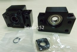 Wholesale 1 sets BK BF10 Ballscrew End Support Bearing CNC BK10 and BF10