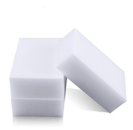 Wholesale White Magic Melamine Sponge mm Cleaning Eraser Multi functional Sponge Without Packing Bag Household Cleaning Tools