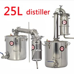 Wholesale L Large capacity Stainless steel Wine brewing machine equipment Alcohol Vodka Liquor distiller pot boilers