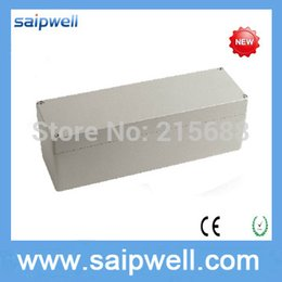 Wholesale Saipwell New mm Metal and electrical controller shell aluminum metal waterproof boxes SP AG FA22