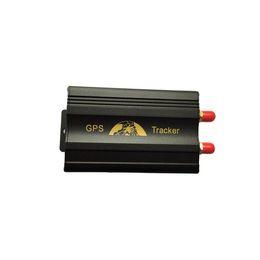 Wholesale COBAN GSM GPRS Tracking Vehicle Car GPS Tracker tk103a TK103 GPS103A Real time tracker Door shock sensor ACC alarm
