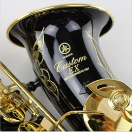 Wholesale France Henri selmer alto saxophone Antique Copper Simulation Reference green ancient drawing Eb alto sax with mouthpiece
