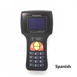 Wholesale Latest Version V15 T300 T300 Transponder Key Programmer Spanish Version Black T Key Maker Read IMMO ECU ID EN SP