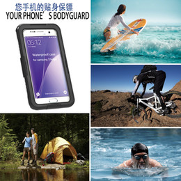 Wholesale Cubierta impermeable subacuática del caso impermeable del caso para el iPhone S más el borde del borde S6 del borde de la galaxia S7 de Samsung Nota S4 S5