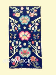 Wholesale Tibet antique carpet Handmade rug wool carpets natural color