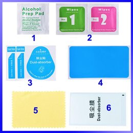 Wholesale Cleaning Tools Wet Dry in Wipe Dust Absorber Guide Sticker Explosion Proof Tempered Glass ScFor iphone ipad Samsung