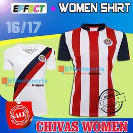 Wholesale Liga MX Club America Chivas UNAM PUMAS Women Soccer Jerseys A PULIDO Guadalajara Maillot de foot Girl Lady Madrid football Shirt