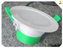 Wholesale 12Watt LED Downlight Full kit Italian design dimmable lamp Plastic Aluminum Body LED Downlights kit With m Australian rules plug wire