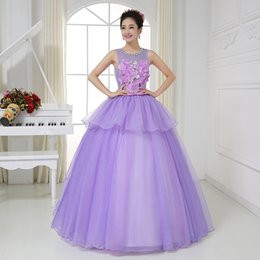 Wholesale Free ship real photo lilac ball gown floral medieval dress sissi princess Medieval Renaissance Gown queen Victorian Belle ball