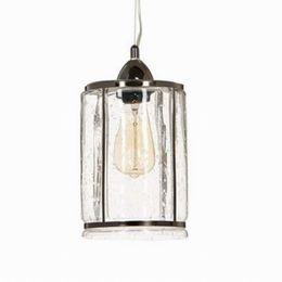 Wholesale Clear antique glass pendant lamp For Kitchen Lights Cabinet Living dining room Edison Simple Glass Pendant Light Fixture