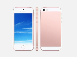 Wholesale 4 quot metal Goophone i5 SE Dual Core MTK6572 goophone iSE G Phone call with MB GB can show GB GB Sealed box