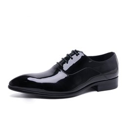 2016 Leather Oxford Dress Shoes Mens US shoe