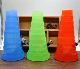 Shisha bouche en Ligne-Flexibles Water Tobacco Pipe Hookah shisha acrylique bongs bongs en verre broyeur d'herbes nettoyeur conseils de bouche broyeur d'herbes injecteur de papier roulant
