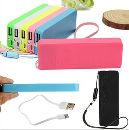 Wholesale Special offer mAh Ultrathin polymer Power bank mAh USB PowerBank Portable External Battery Charger for iphone Samsung Power banks
