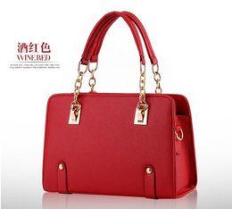 17 color new wave of female Shixia models chain bag fashion handbags Shoulder Messenger Handbag