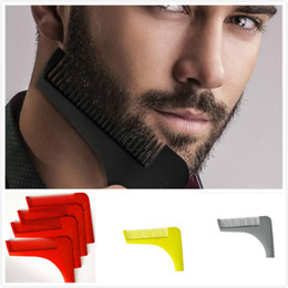 Wholesale HOT Sale Beard Bro Beard Shaping Tool for Perfect Lines and Symmetry PRO SHAVING BEARD with logo Free Ship