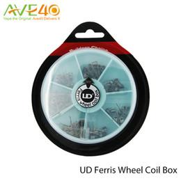 UD Wheel Coil UD Ferris wheel coil box Quad Dual Twiested Clatpton Coil Original