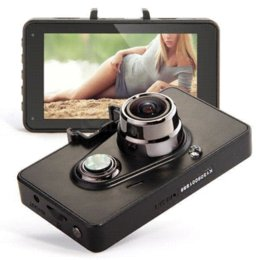 Wholesale 3 TFT LCD GS6300 Car DVR Full HD Ambarella Video DVR Night Vision With GPS G Sensor Degree Angle Lens