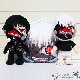Wholesale Tokyo Ghouls Ken Kaneki Plush Toys Stuffed Soft Dolls For Kids Christmas Gift cm Styles Selectable
