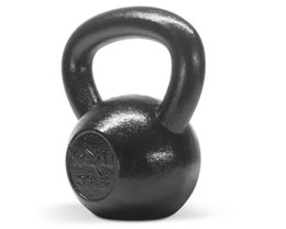 Kettlebell 35 lbs Hand Weight Fitness Body Training Exercise Cap Gym - ²KJ24C