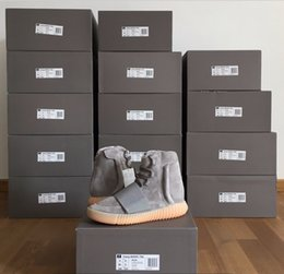 Wholesale Adidas Originals Yeezy Boost Glow Dark Kanye West BB1840 quot Glow In The Dark quot Light Grey Light Grey Gum Men Women Trainers Shoes With Box
