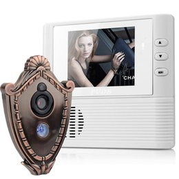 Wholesale 2 inch Lcd digital Door Camera Doorbell peephole Door viewer eye Home Security Camera Cam door bell X Zoom