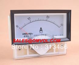 Wholesale Analog AC Ammeter A current meter L17 amp meter