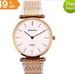 Wholesale Best Cheap Waterproof Watches Boamigo Genuine Couple Watch Lovers Table Leisure Wild Mechanical Wrist Watch Relojes Mujer