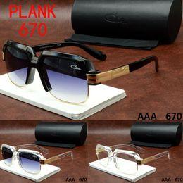Wholesale Cazal Women Sunglasses - Originals Cazal Sunglasses 670 Clear Frame Fashion Mens Polarized Famous Brand Tom Sun Glasses Top Quality Brand Dita Sunglasses Fords