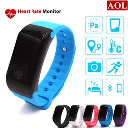 Wholesale 2016 NEW Nordic chip X7 Fitness Tracker Smartband Heart Rate Atmospheric Pressure Test Altitude Monitor smart bracelet PK JW86 TW64