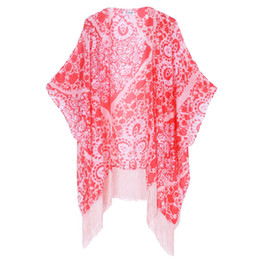 Wholesale Soul Young Flora chiffon Pashmina Bikini Scarf All match Scarves and Wraps ultraviolet proof For sunblock European and American fashion