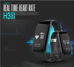 Wholesale The new mind reading by heart bracelet movement pedometer heart rate detection calls to remind SMS alert IOS Android General