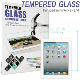 Wholesale Skylet For iPAD Tempered Glass Screen Protector For Ipad Ipad mini Film Tablet Screen Protector H MM Tempered Glass Retail Package