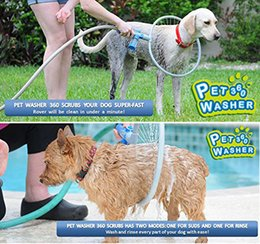 Wholesale Pet Woof Washer With FREE Drying Mitt Designed For Dog Washer Cat Washer Magical Wash Shampoo Wash Quick Pet Cleaning
