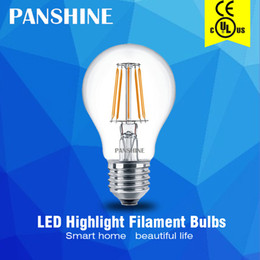 Free low energy light bulbs UK | Free UK Delivery on Free Low ...:2016 New design edison led filament bulbs dimming A60 A19 2W 4W 6W CE UL  decorative glass energy-saving indoor light low price free shipping,Lighting