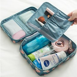 Wholesale 2016 Cosmetics Storage Wash Suppliers Bags Case Waterproof Travel Portable Multi Function Storage Box Case
