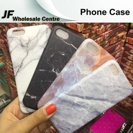 Wholesale For iPhone plus Grind Arenaceous Marble Grain Phone Cases TPU Back Cover for iphone s plus plus Full Protector Shell Skin